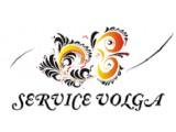 """Логотип """"Service Волга"""" Саратов"""